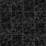 【タイル】黒色の大理石タイル (目地灰色)【テクスチャー】 tile_0154