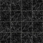 【タイル】黒色の大理石タイル (目地薄い灰色)【テクスチャー】 tile_0155