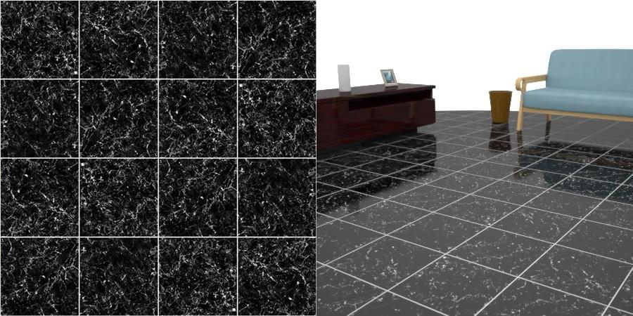 フリーデータ,free,2D,テクスチャー,texture,JPEG,フロアータイル,floor,tile,石タイル,stone,黒色,black,大理石,marble