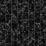 【タイル】黒色の大理石タイル (馬目地)【テクスチャー】 tile_0161