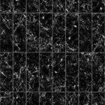 【タイル】黒色の大理石タイル (芋目地)【テクスチャー】 tile_0160