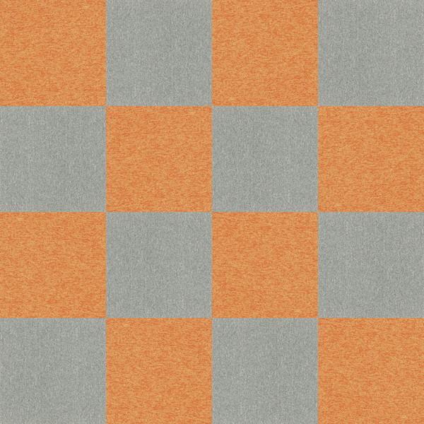 CAD,フリーデータ,2D,テクスチャー,texture,JPEG,タイルカーペット,tile,carpet,灰色,グレー,gray,橙色,オレンジ,orange,市松貼り,2色市松