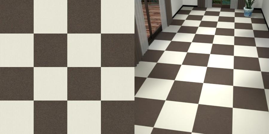 フリーデータ,2D,テクスチャー,texture,JPEG,タイルカーペット,tile,carpet,白色,しろ,white,灰色,ブラウン,brown,市松貼り,2色市松