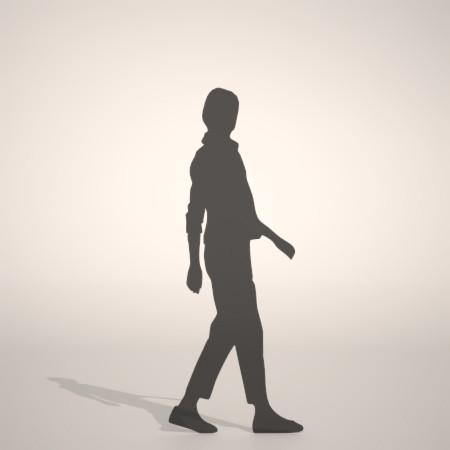 formZ 3D シルエット silhouette 女性 woman female lady ストール stall スラックス slacks