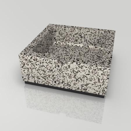 formZ 3D インテリア interior 雑貨 miscellaneous goods 模様のある石の灰皿 ashtray