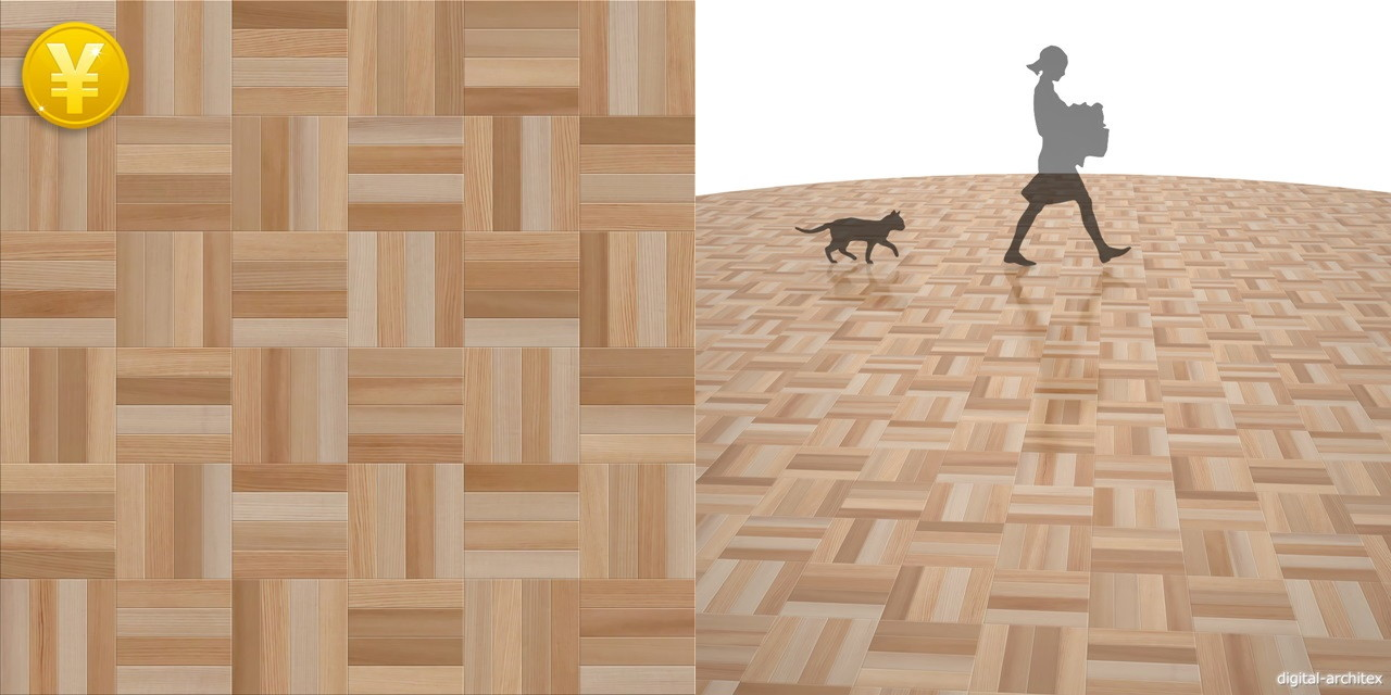 2D,テクスチャー,texture,JPEG,木質,floor,wooden flooring,wood,茶色,brown,杉の寄木張り市松張りのフローリング,木目
