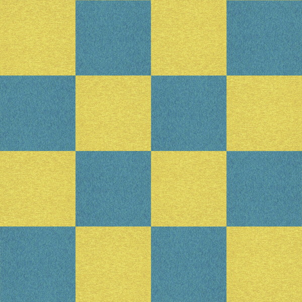 フリーデータ,2D,テクスチャー,texture,JPEG,タイルカーペット,tile,carpet,青,ブルー,blue,黄色,イエロー,yellow,市松貼り,2色市松
