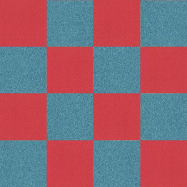 フリーデータ,2D,テクスチャー,texture,JPEG,タイルカーペット,tile,carpet,青,ブルー,blue,赤色,あか,レッド,red,市松張り,2色市松