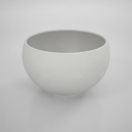 無料 商用可能 フリー素材 formZ 3D インテリア interior 食器 tableware sake cup 白いぐい呑み