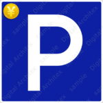 2D,illustration,JPEG,png,traffic signs,マーク,道路標識,切り抜き画像,駐車可の交通標識のイラスト,指示標識,駐車場,parking