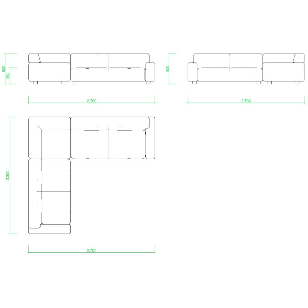 autocad 家具