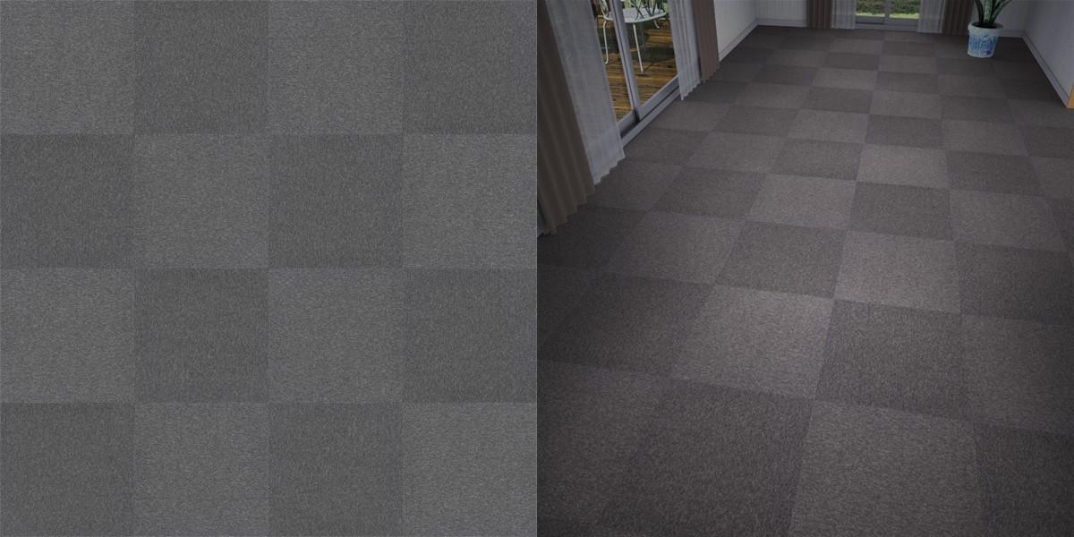 タイルカーペットのシームレステクスチャー丨床材 市松張り丨無料 商用可能 フリー素材 フリーデータ丨サンゲツ NT742