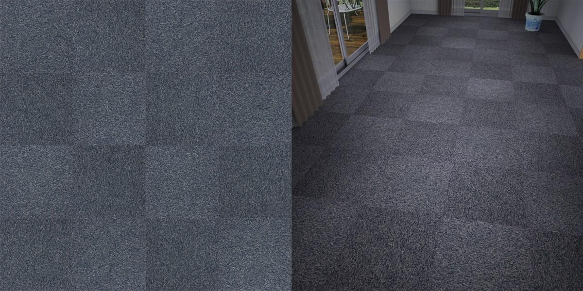 タイルカーペットのシームレステクスチャー丨床材 市松張り丨無料 商用可能 フリー素材 フリーデータ丨サンゲツ NT743