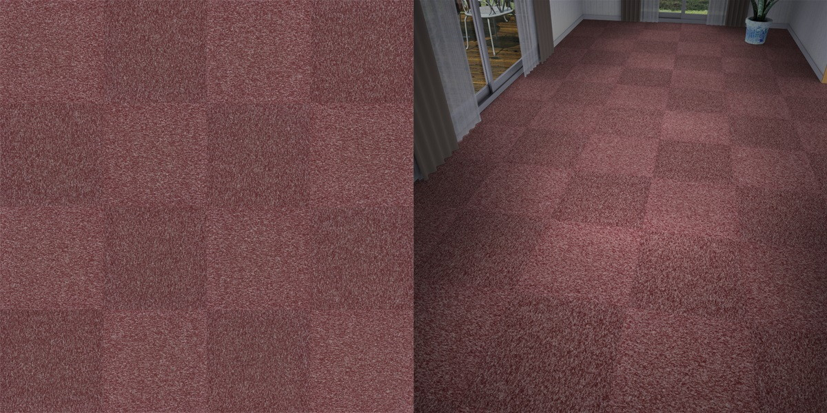 タイルカーペットのシームレステクスチャー丨床材 市松張り丨無料 商用可能 フリー素材 フリーデータ丨サンゲツ NT747