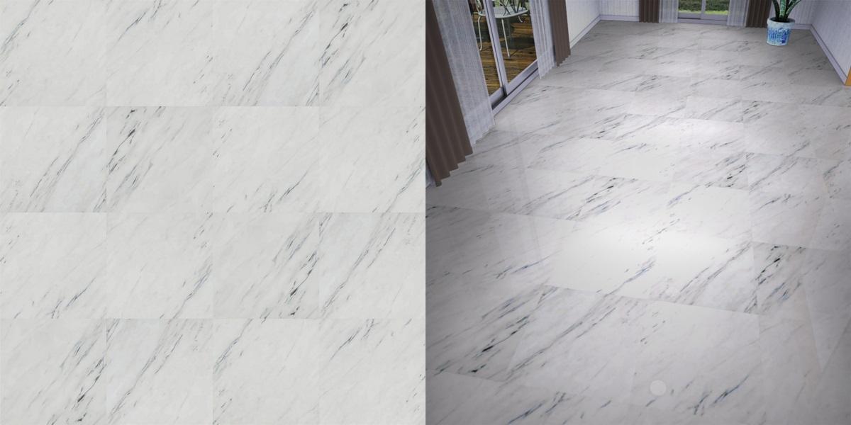 石目調フロアータイルのシームレステクスチャー丨床材 流し張り丨無料 商用可能 フリー素材 フリーデータ丨サンゲツ FT701