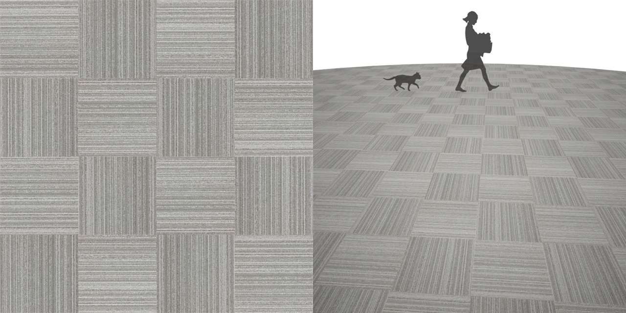 タイルカーペットのシームレステクスチャー丨床材 市松張り丨無料 商用可能 フリー素材 フリーデータ丨サンゲツ NT774