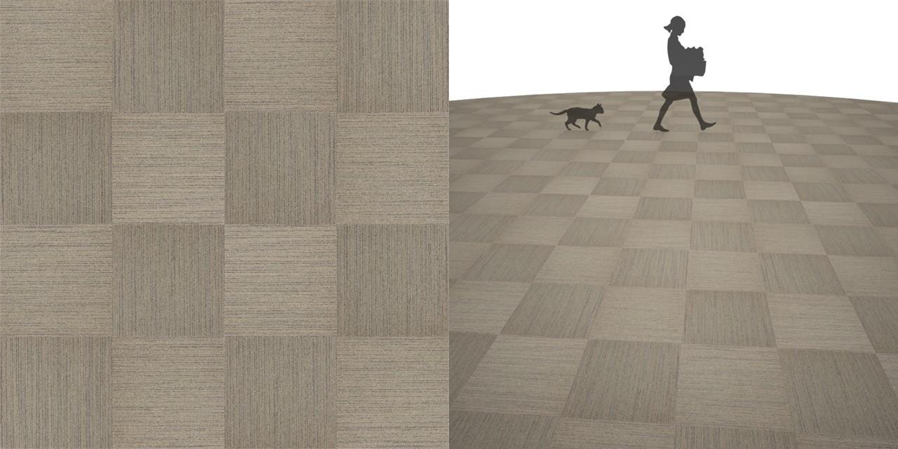 タイルカーペットのシームレステクスチャー丨床材 市松張り丨無料 商用可能 フリー素材 フリーデータ丨サンゲツ NT802