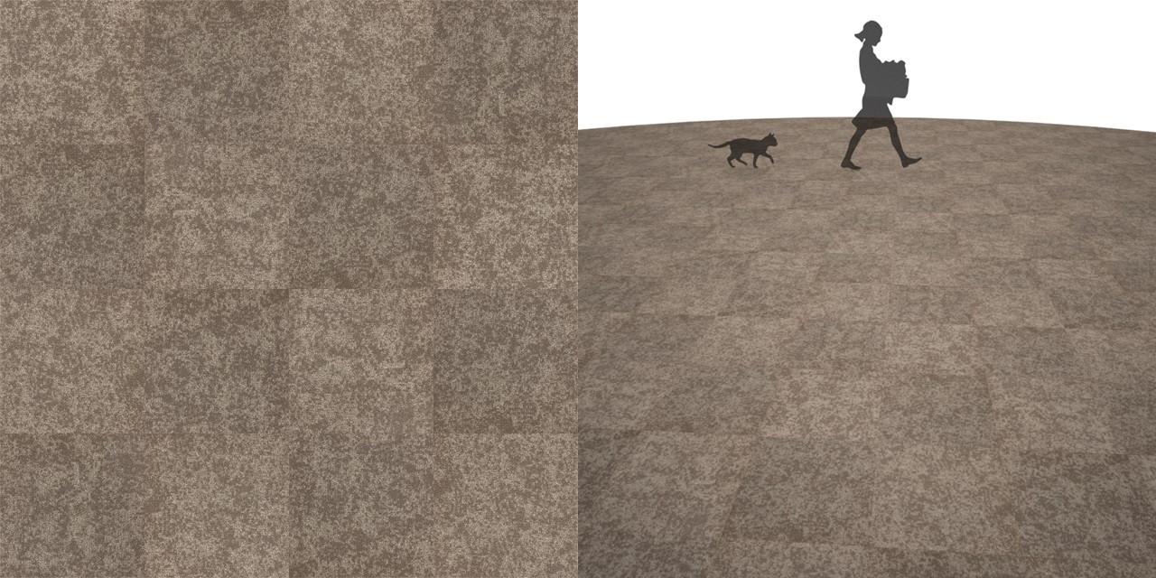 タイルカーペットのシームレステクスチャー丨床材 市松張り丨無料 商用可能 フリー素材 フリーデータ丨サンゲツ NT824