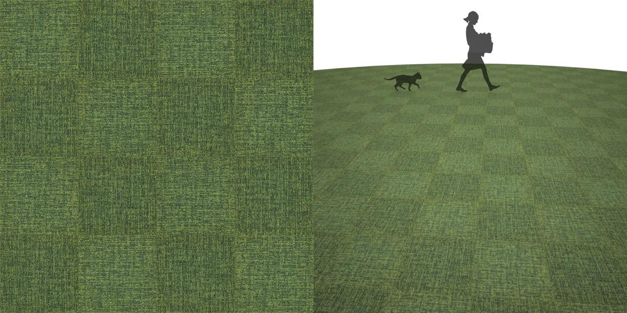 タイルカーペットのシームレステクスチャー丨床材 市松張り丨無料 商用可能 フリー素材 フリーデータ丨サンゲツ NT843