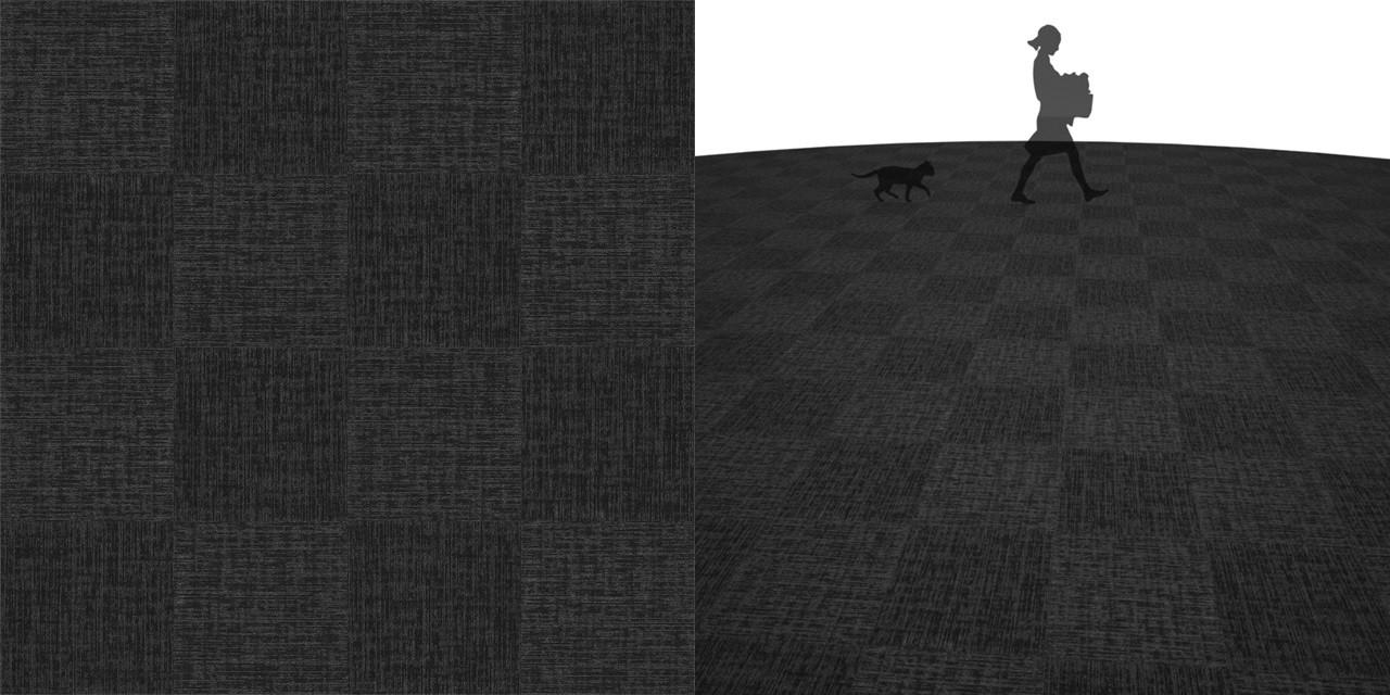 タイルカーペットのシームレステクスチャー丨床材 市松張り丨無料 商用可能 フリー素材 フリーデータ丨サンゲツ NT846