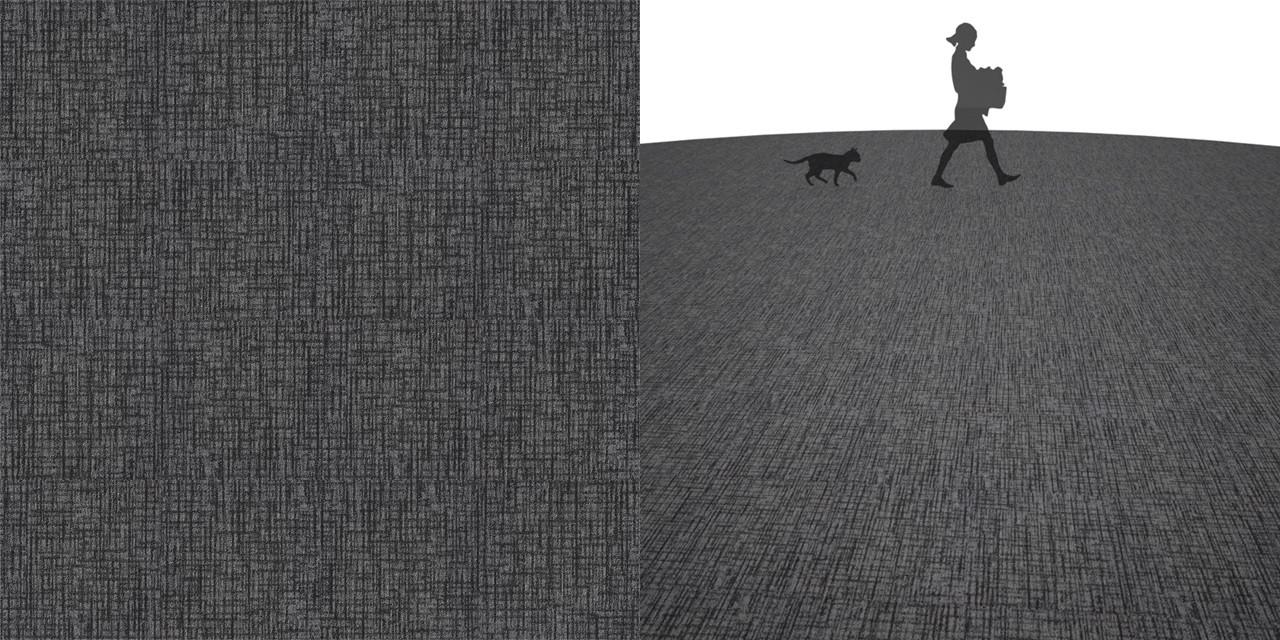 タイルカーペットのシームレステクスチャー丨床材 流し張り丨無料 商用可能 フリー素材 フリーデータ丨サンゲツ NT877