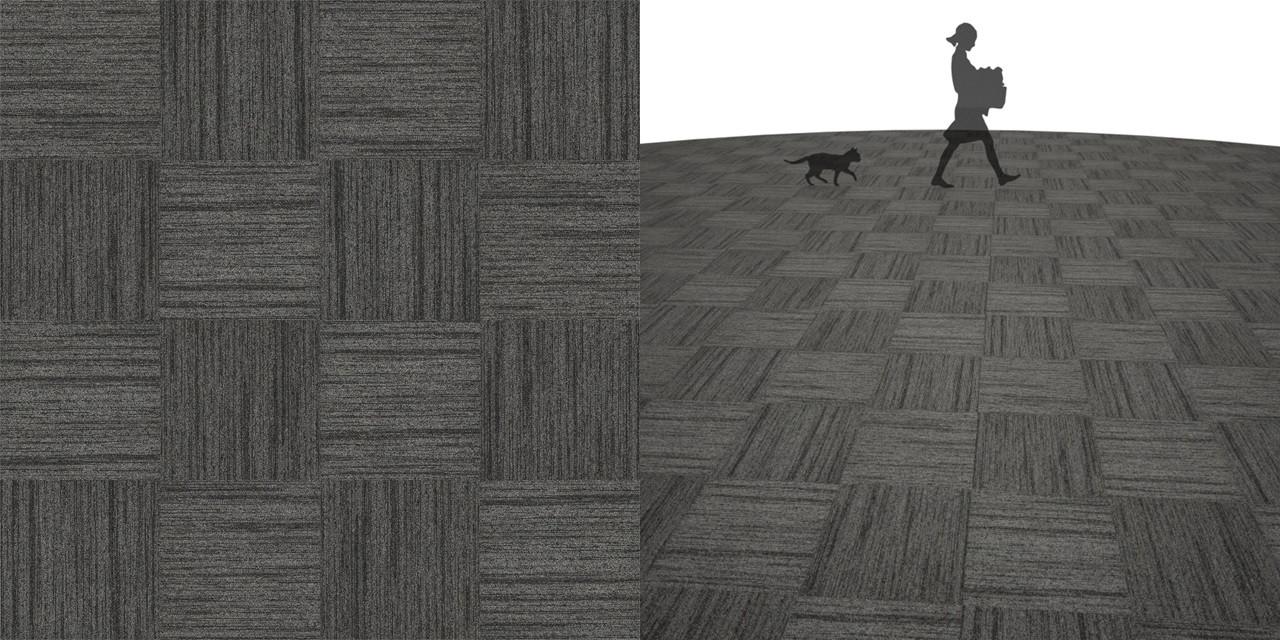 タイルカーペットのシームレステクスチャー丨床材 市松張り丨無料 商用可能 フリー素材 フリーデータ丨サンゲツ NT885