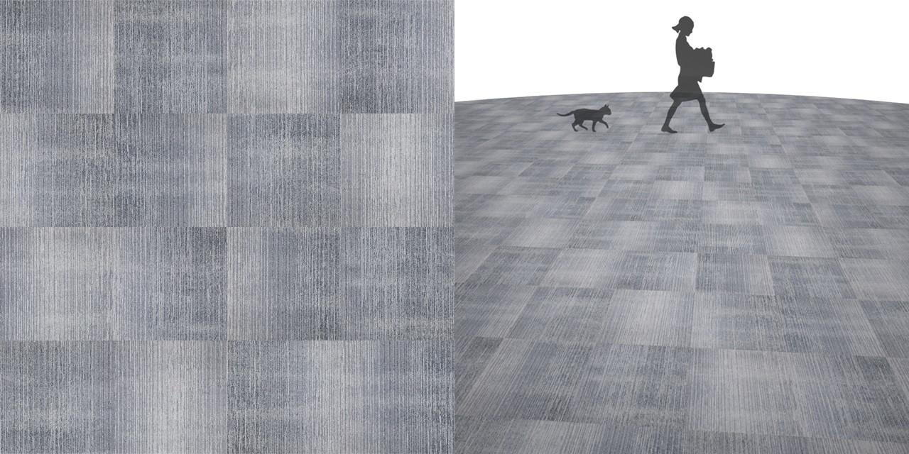 タイルカーペットのシームレステクスチャー丨床材 流し張り丨無料 商用可能 フリー素材 フリーデータ丨サンゲツ NT792
