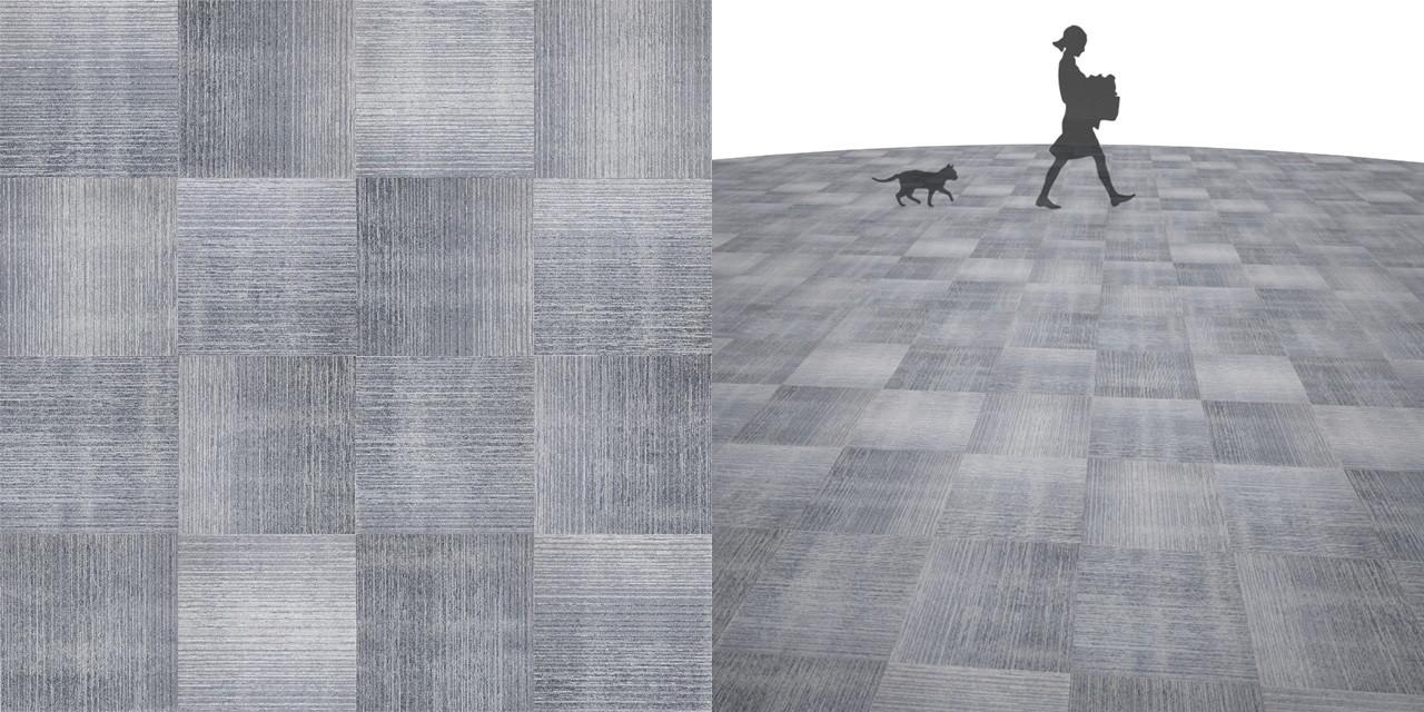 タイルカーペットのシームレステクスチャー丨床材 市松張り丨無料 商用可能 フリー素材 フリーデータ丨サンゲツ NT792