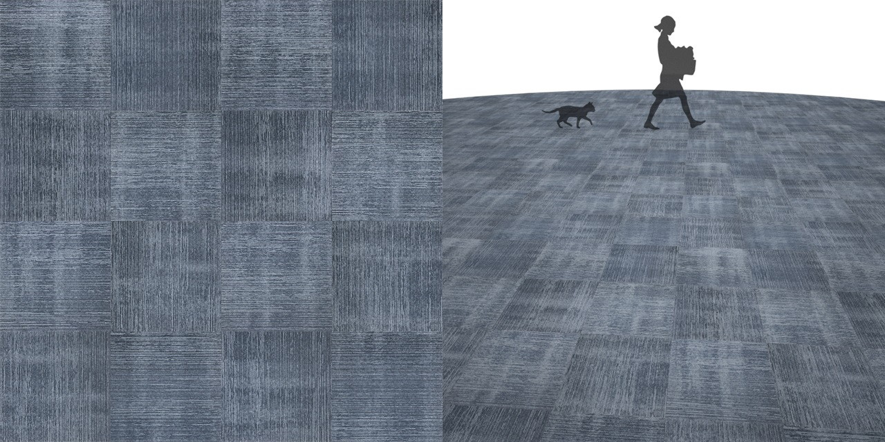 タイルカーペットのシームレステクスチャー丨床材 市松張り丨無料 商用可能 フリー素材 フリーデータ丨サンゲツ NT794