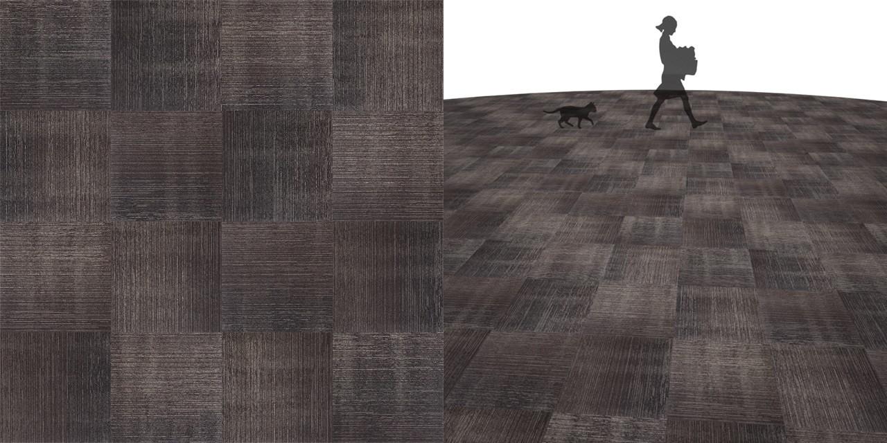 タイルカーペットのシームレステクスチャー丨床材 市松張り丨無料 商用可能 フリー素材 フリーデータ丨サンゲツ NT796