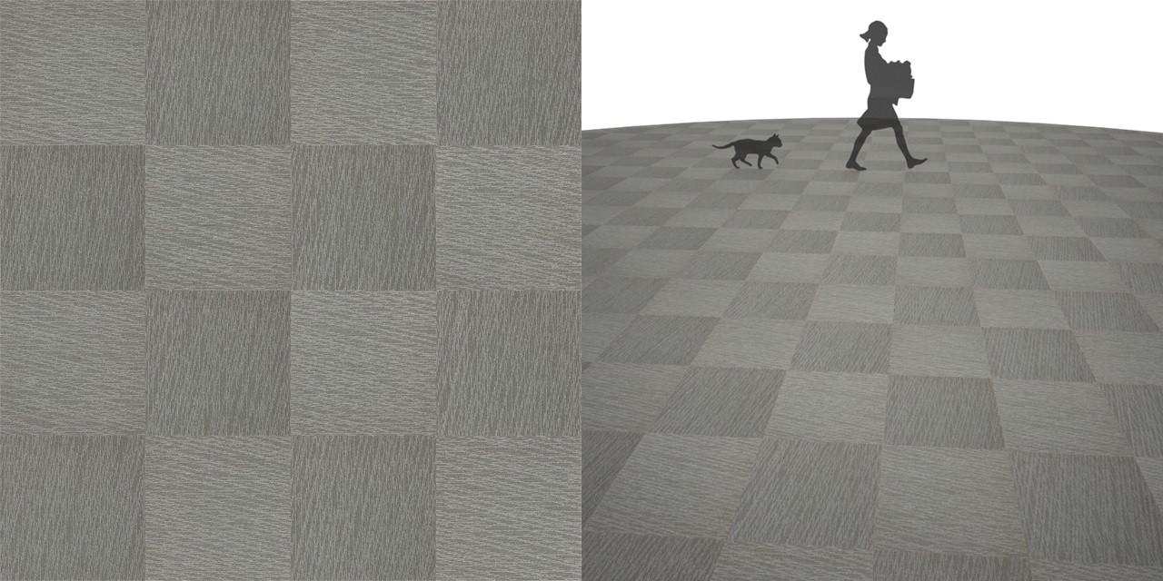 タイルカーペットのシームレステクスチャー丨床材 市松張り丨無料 商用可能 フリー素材 フリーデータ丨サンゲツ NT811