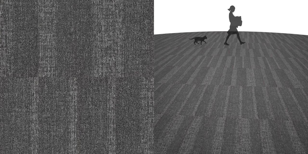 タイルカーペットのシームレステクスチャー丨床材 すだれ張り丨無料 商用可能 フリー素材 フリーデータ丨サンゲツ NT8001