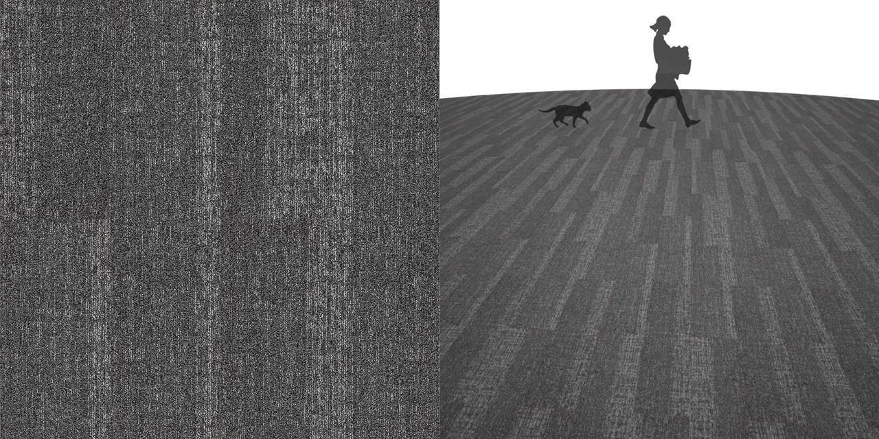 タイルカーペットのシームレステクスチャー丨床材 りゃんこ張り丨無料 商用可能 フリー素材 フリーデータ丨サンゲツ NT8001