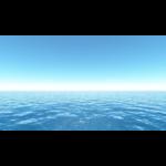 【CG】雲一つない青空と海【背景画像】 ocean_0004