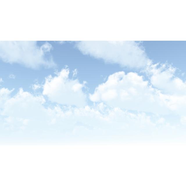 雲の広がる空丨CG 背景画像 空丨無料 商用可能 フリー素材 フリーデータ丨データ形式はjpegです
