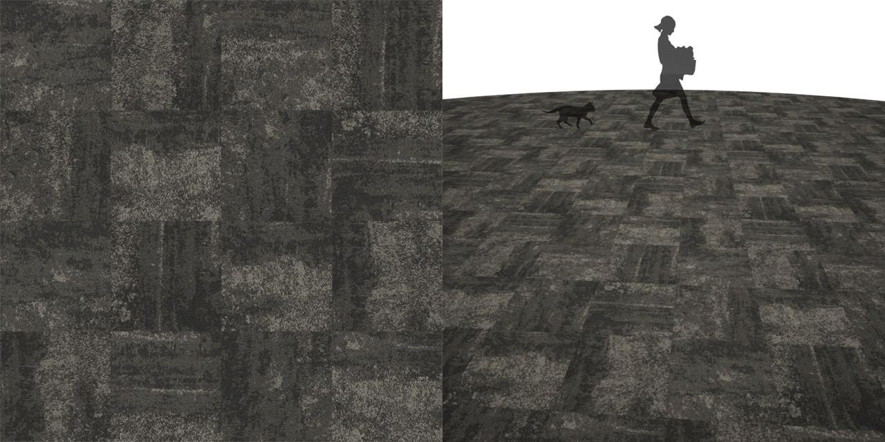 タイルカーペットのシームレステクスチャー丨床材 市松張り丨無料 商用可能 フリー素材 フリーデータ丨サンゲツ DT3203