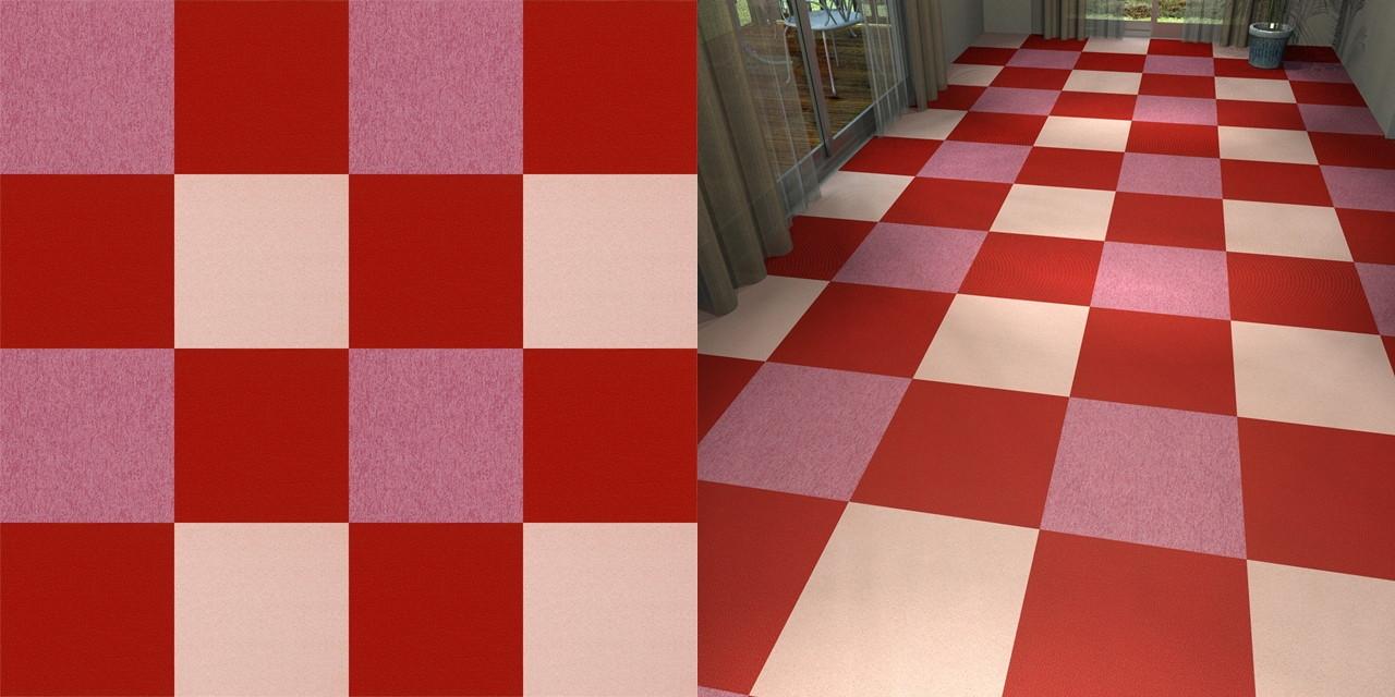 タイルカーペットのシームレステクスチャー丨床材 市松張り チェック柄丨無料 商用可能 フリー素材 フリーデータ丨サンゲツ NT746 NT2584 NT345丨【無料・商用可】2D・3D CADデータ フリーダウンロードサイト