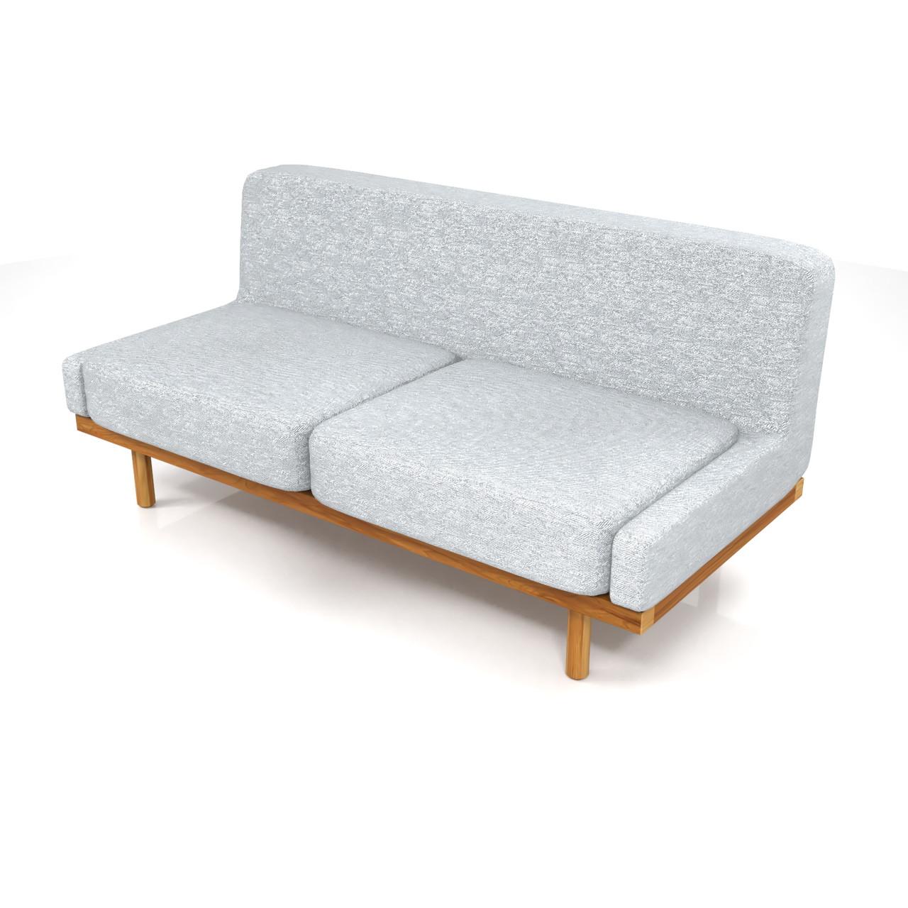 2.5人掛けのソファ(グレー)の3DCADデータ丨インテリア 家具 ソファー丨無料 商用可能 フリー素材 フリーデータ丨データ形式はformZ ・3ds・objファイルです丨digital-architex.com