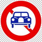 【交通標識】二輪の自動車以外の自動車通行止めの 規制標識【イラスト】ill-tsi_304