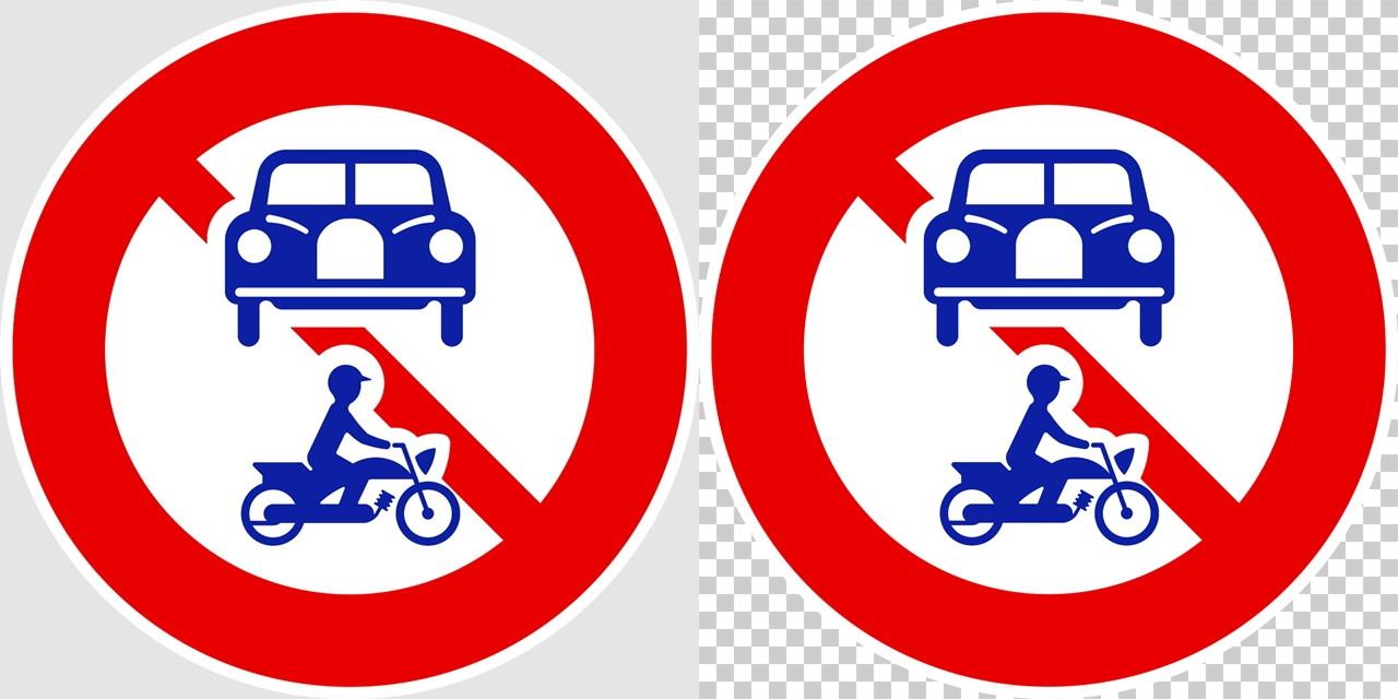 車両 組合せ 通行止めの 規制標識│禁止 バイク 車 マーク 道路標識 切り抜き画像 イラスト フリー データ ダウンロード無料 商用可能 フリー素材 ダウンロード Free download 2D illustration JPEG png traffic signs│digital-architex.com