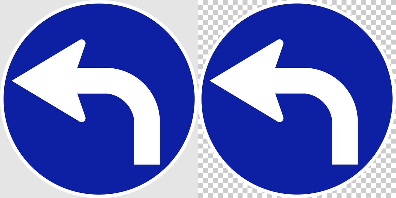 指定方向外進行禁止の 規制標識│矢印 マーク 日本の道路標識 切り抜き画像 イラスト フリー データ ダウンロード無料 商用可能 フリー素材 ダウンロード Free download 2D illustration JPEG png traffic signs│digital-architex.com