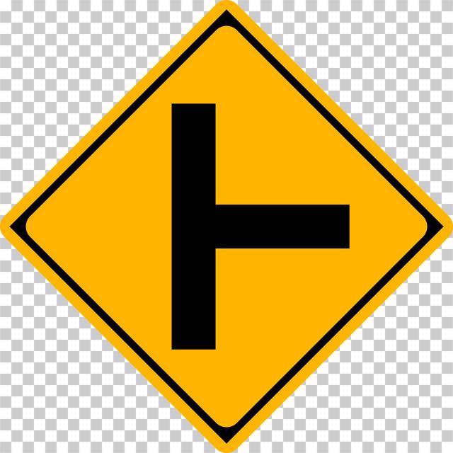 ├形道路交差点ありの 警戒標識│ マーク 日本の道路標識 切り抜き画像 イラスト フリー データ ダウンロード無料 商用可能 フリー素材 ダウンロード Free download 2D illustration JPEG png traffic sign│digital-architex.com