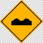 【交通標識】路面に凹凸ありの 警戒標識【イラスト】ill-tsi_209-3