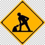 【交通標識】道路工事中の 警戒標識【イラスト】ill-tsi_213