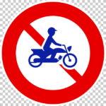 【交通標識】二輪の自動車・原動機付自転車通行止めの 規制標識【イラスト】ill-tsi_307
