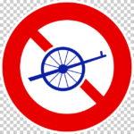 【交通標識】自転車以外の軽車両通行止めの 規制標識【イラスト】ill-tsi_308