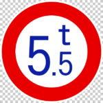 【交通標識】重量制限の 規制標識【イラスト】ill-tsi_320