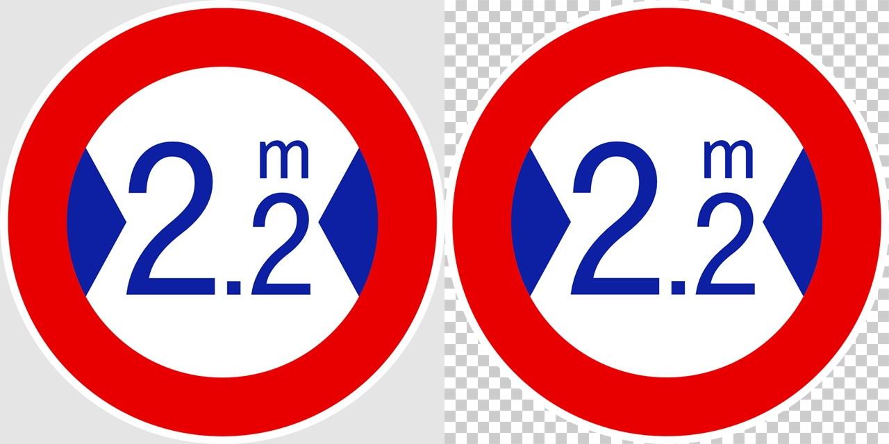 最大幅の 規制標識│ マーク 日本の道路標識 切り抜き画像 イラスト フリー データ ダウンロード無料 商用可能 フリー素材 ダウンロード Free download 2D illustration JPEG png traffic signs│digital-architex.com