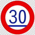 【交通標識】最低速度の 規制標識【イラスト】ill-tsi_324