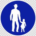 【交通標識】歩行者専用の 規制標識【イラスト】ill-tsi_325-4